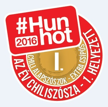 #Hunhot2016 Év Chiliszósza: GaBko Chili Hot Pepper szósz!
